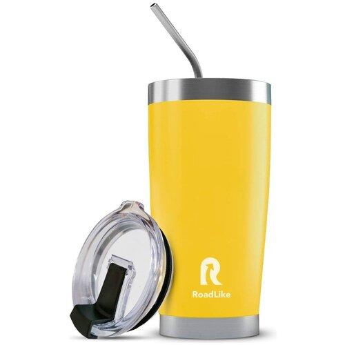 Термокружка Roadlike City mug, 0.57 л желтый