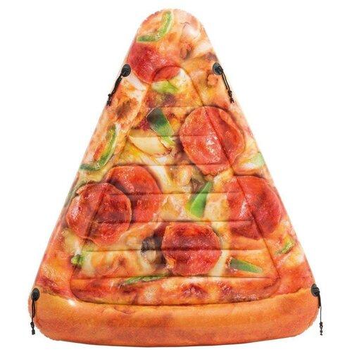 Матрас Intex Кусочек пиццы 145x175 см оранжевый
