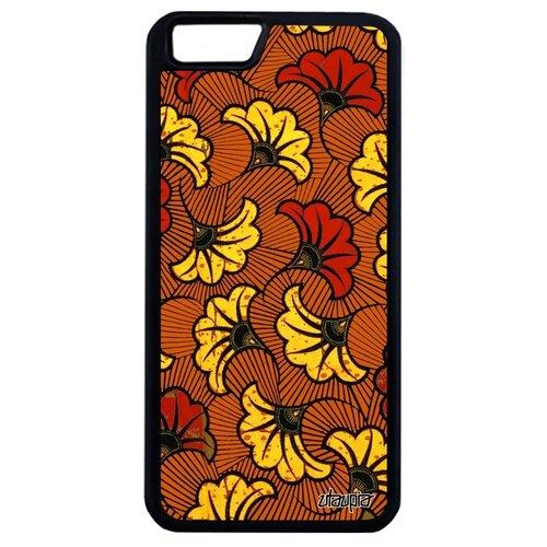 Чехол для Айфона 6 6S Plus оригинальный дизайн Африканский принт Цветочный Мотив