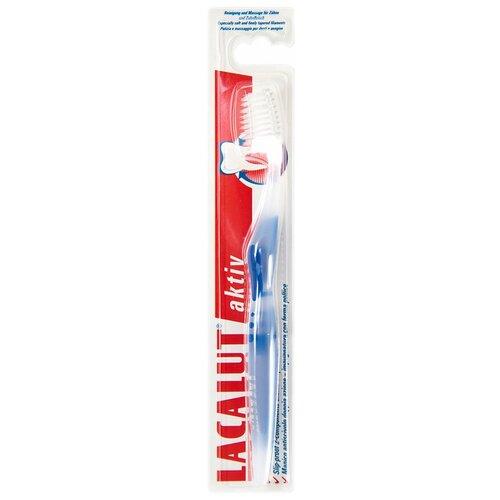 Зубная щетка Lacalut Aktiv Soft, синий