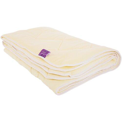 Одеяло Kupu-Kupu Бамбук Classic трикотажное, легкое, 140 х 205 см (экрю) одеяло kupu kupu бамбук classic трикотажное легкое 172 х 205 см экрю