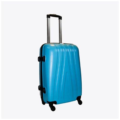 Чемодан Rion+, 416-1 синий 22