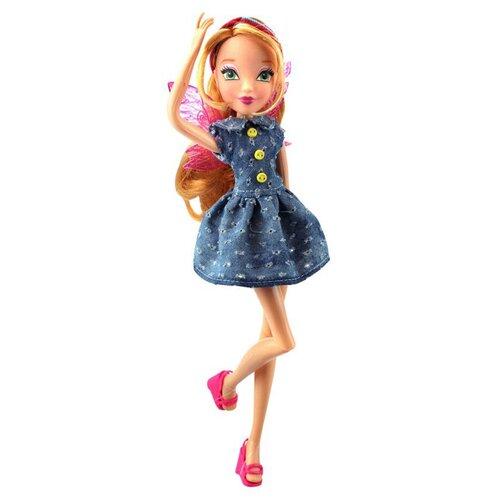 Кукла Winx Club Стильная штучка Флора, 28 см, IW01571802