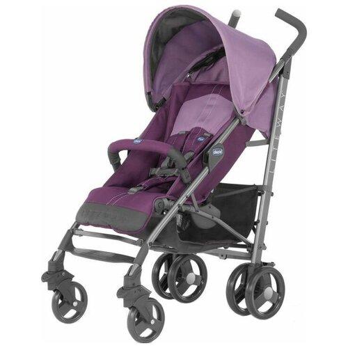 Прогулочная коляска Chicco Lite Way 2 Top, purple прогулочная коляска chicco lite way top aster