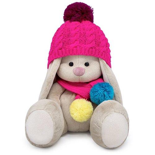 Мягкая игрушка BUDI BASA SidS-443 Зайка Ми в вязаном комплекте 18 см