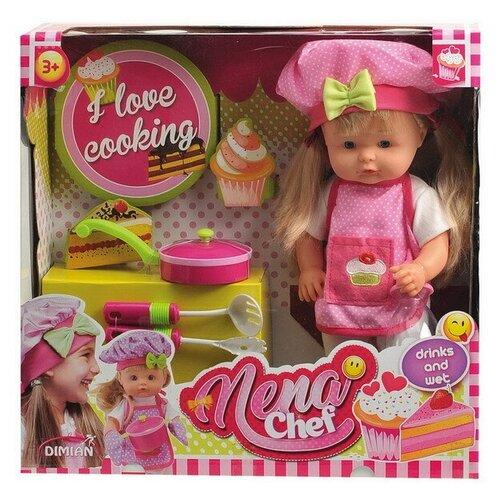 Фото - Кукла DIMIAN NENA шеф-повар, 36 см dimian