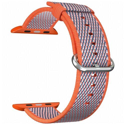 Lyambda Нейлоновый ремешок Polis для Apple Watch 42/44 mm оранжевый