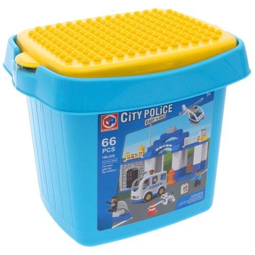 Конструктор Kids home toys 188-225 Police Station конструктор kids home toys happy farm 188 133