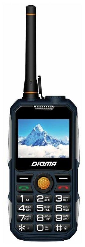 Телефон DIGMA LINX A230WT 2G, синий