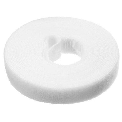 Лента-липучка для стяжки проводов 1 шт 500*15 см белая 5161561