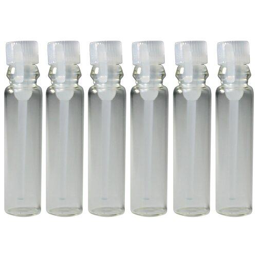 Пробники (фиолки) Aromaprovokator для духов 1 ml крышка прозрачная набор 100 штук