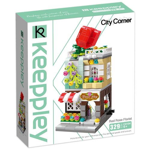 Конструктор Keeppley City Corner C0104 Киоск цветов