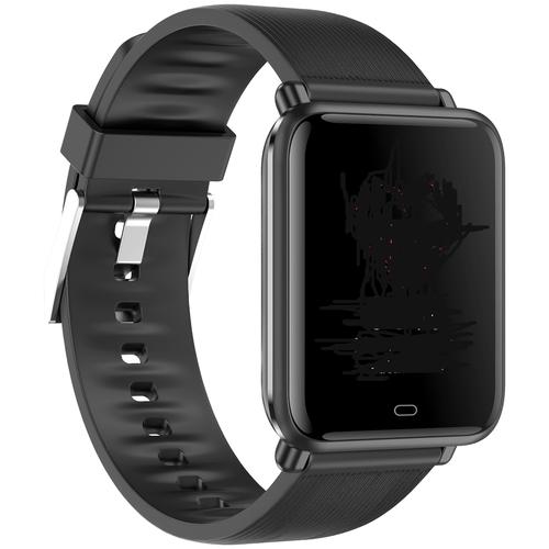 Smart-часы Q9T GARSline с измерением температуры, давления, пульса черные