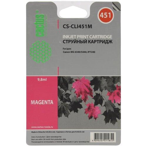 Фото - Картридж cactus CS-CLI451M 9.8 мл., совместимый картридж cactus cs cf300a совместимый