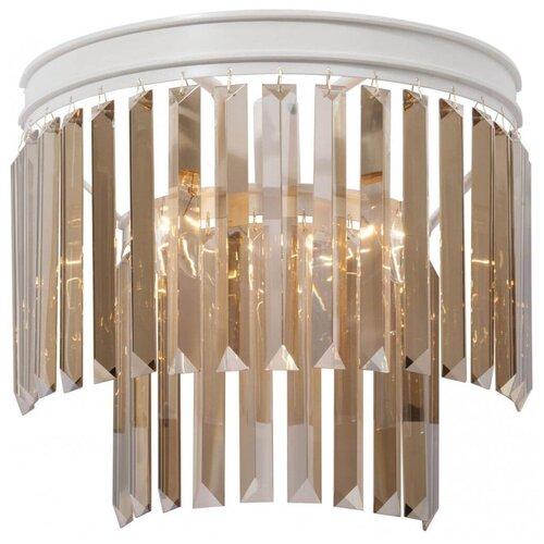 Настенный светильник Vitaluce V5156-0/3A, E14, 180 Вт, кол-во ламп: 3 шт., цвет арматуры: белый настенный светильник vitaluce v1115 3a 180 вт