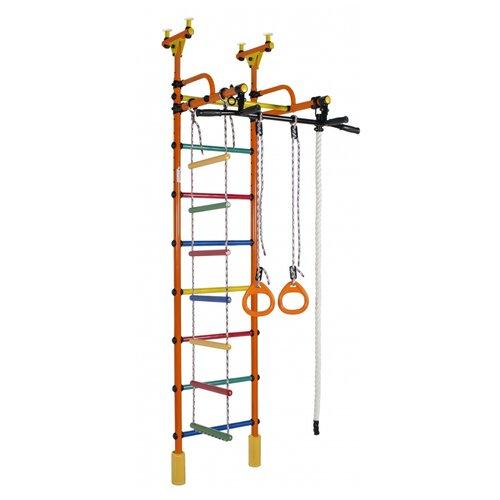 Купить Шведская стенка Формула здоровья Жирафик оранжевый/радуга, Игровые и спортивные комплексы и горки