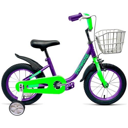 Фото - Детский велосипед FORWARD Barrio 16 (2019) фиолетовый (требует финальной сборки) детский велосипед forward barrio 18 2020 красный требует финальной сборки