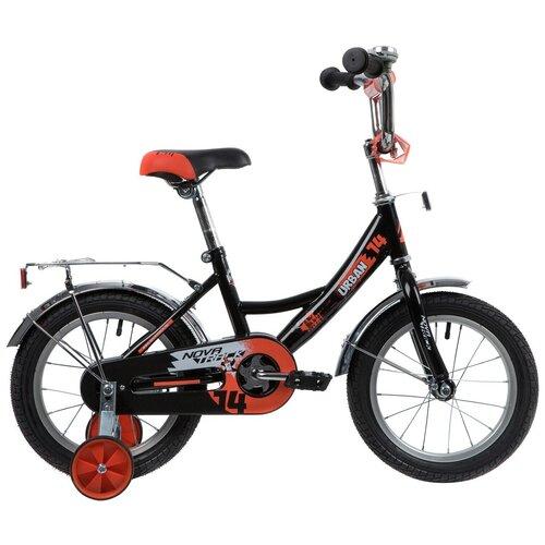Фото - Детский велосипед Novatrack Urban 14 (2020) черный (требует финальной сборки) детский велосипед novatrack urban 16 2019 синий требует финальной сборки