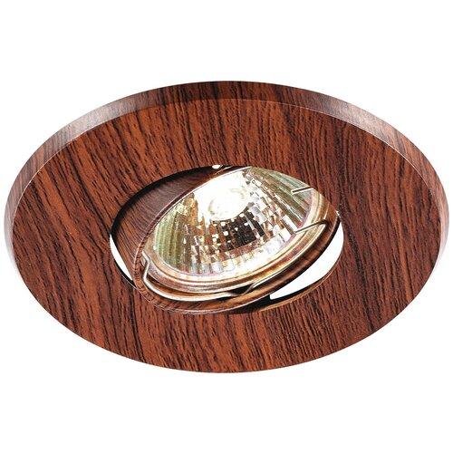 Встраиваемый светильник Novotech Wood 369710 встраиваемый светильник novotech wood 369717