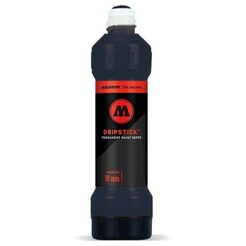 Купить Маркер сквизер Molotow Dripstick 860005 Цвет черный 10мм 70мл, Фломастеры и маркеры