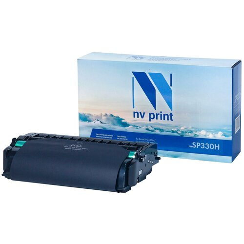 Фото - Картридж NV Print SP330H для Ricoh, совместимый картридж nv print sp3400 для ricoh совместимый