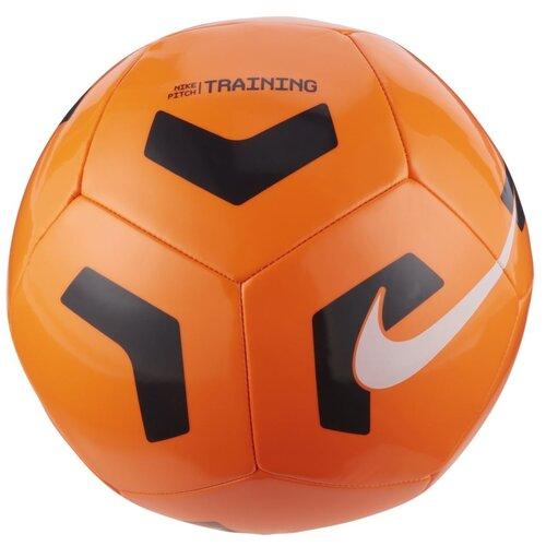 Футбольный мяч NIKE Pitch Training CU8034 оранжевый 5 nike бутсы для мальчиков nike phantom venom academy tf размер 34 5