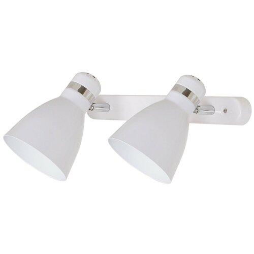 Настенный светильник Arte Lamp Mercoled A5049AP-2WH, 80 Вт спот arte lamp a5049ap 2wh