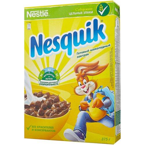 Фото - Готовый завтрак Nesquik шоколадные шарики, коробка, 375 г готовый завтрак tsakiris family лепестки шоколадные коробка 250 г