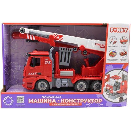 Конструктор Funky Toys Пожарная машина FT61113