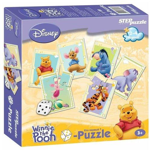 Настольная игра Step puzzle Кубик-пазл Медвежонок Винни