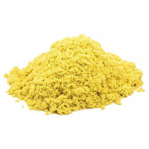 Кинетический песок Космический песок базовый, желтый, 3 кг, пластиковый контейнер  - купить со скидкой