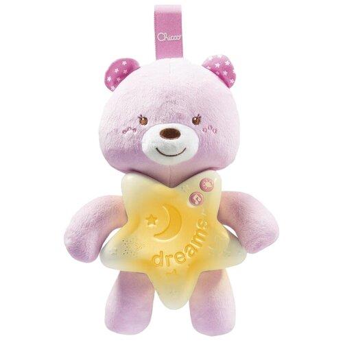 Фото - Подвесная игрушка Chicco Медвежонок розовый тарелка chicco easy feeding 6м розовый