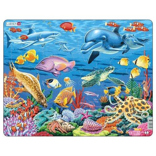 Купить Рамка-вкладыш Larsen Коралловый риф (FH29), 35 дет., Пазлы