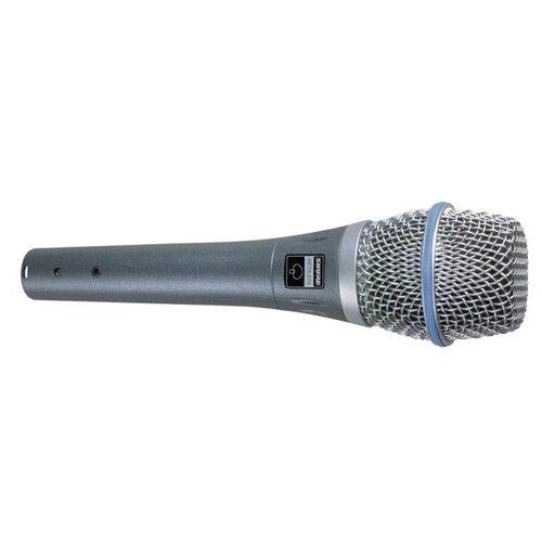Shure Beta 87 A Вокальный конденсаторный суперкардиоидный микрофон