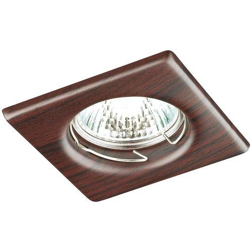 Встраиваемый светильник Novotech Wood 369718 встраиваемый светильник novotech wood 369717
