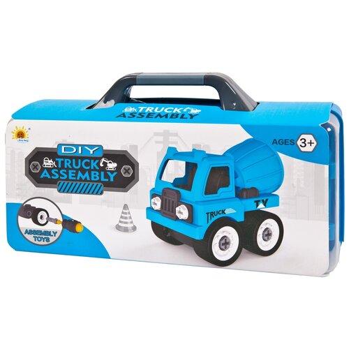 Купить Конструктор Tong Yang DIY Truck Assembly 0590-8 Бетономешалка, Конструкторы