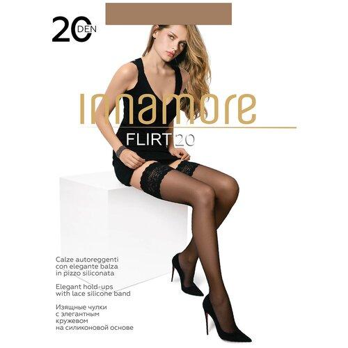 Чулки Innamore Flirt, 20 den, размер 3-M, daino (бежевый)
