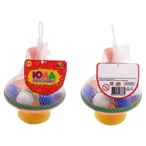 Купить Юла с шариками, в сетке, ABtoys, Юлы