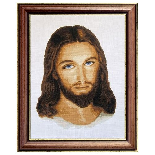 Купить X-716 Набор для вышивания Expressions 'Иисус', 28х37 см, Expressions needlework kits, Наборы для вышивания