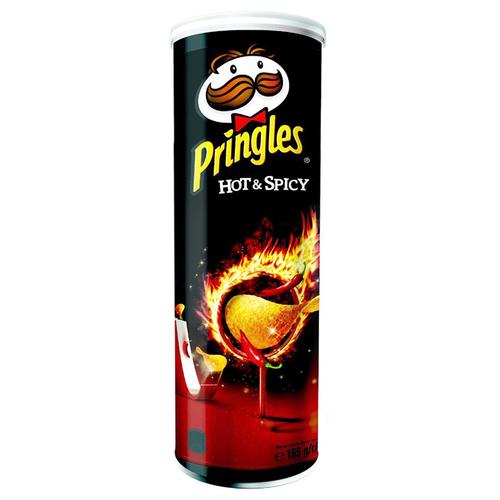 Чипсы Pringles Картофельные Остро пряный 165 г чипсы pringles картофельные spring onion 165 г