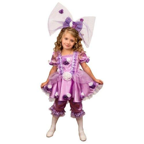 Костюм Маскарад у Алисы Кукла Тутси, сиреневый, размер 32(128) костюм маскарад у алисы восточный принц коричневый размер 32 128