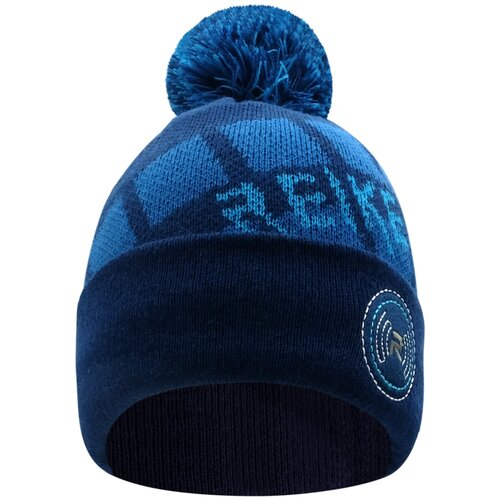 Шапка бини Reike размер 50, темно-синий шапка бини playtoday размер 50 темно синий
