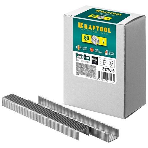 Скобы Kraftool 31780-8 для степлера, 8 мм