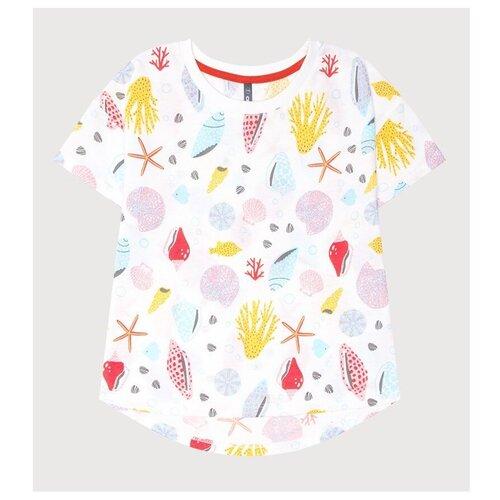 Фото - Футболка crockid, размер 122, сахар, морская шкатулка к243 футболка crockid размер 122 леденец