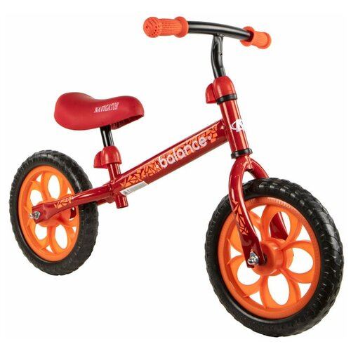 Купить Беговел Navigator Balance ВН12122/ВН12124, красный/оранжевый, Беговелы
