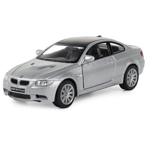 Купить Легковой автомобиль Serinity Toys BMW M3 Coupe (5348DKT) 1:36, 12.5 см, серебристый, Машинки и техника