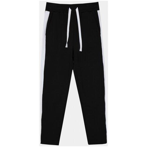 Спортивные брюки Gulliver размер 146, черный