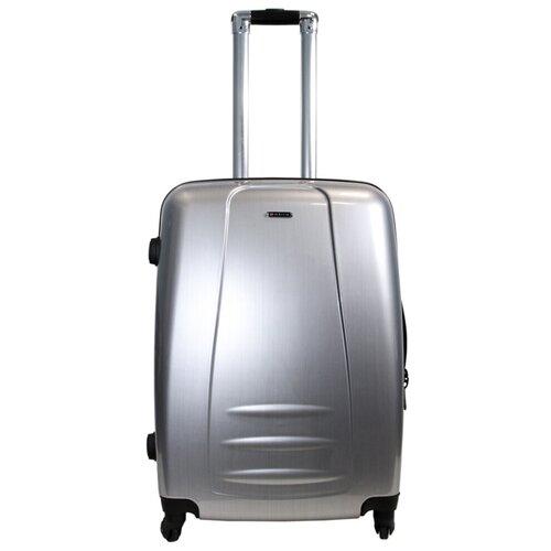 Чемодан Rion+ 418/53 62 л, циркон чемодан rion 418 3 62 л голубой
