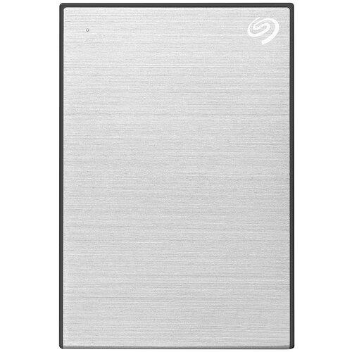 Фото - Внешний HDD Seagate One Touch 5 TB, серебристый внешний hdd seagate original one touch 5tb stkc5000401 серебристый