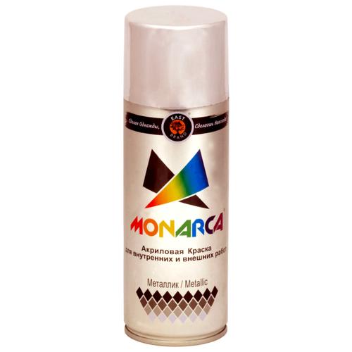 Краска Eastbrand Monarca металлик, яркий хром, 520 мл